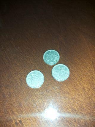 vendo tres monedas