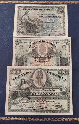 lote billetes clasicos