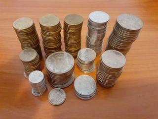 Lote 237 monedas Juan Carlos I