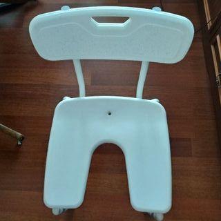 silla de baño persona mayor