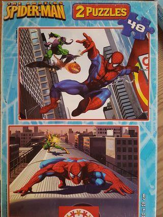 2 Puzzles Educa Spiderman