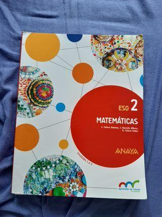 Lote de libros de Matemáticas 2° ESO
