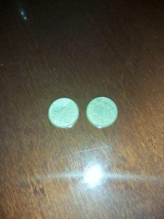 monedas antiguas de 100 pesetas