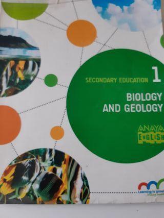 Libro de biología de 1°eso bilingüe