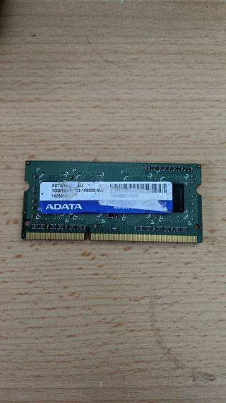 Memoria RAM de Portátil