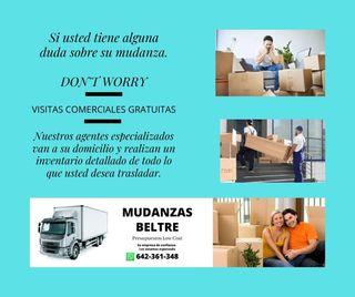 VISITAS COMERCIALES PARA SU MUDANZA GRATUITAS