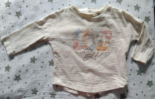 Lote camisetas bebé 6 meses