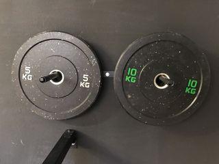 Discos HI temp PRO 5 y 10kg
