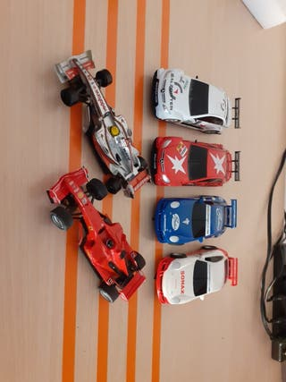 scalextric compact lote coches