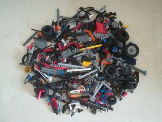 lote 1 Kg piezas lego technic