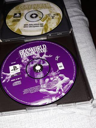 CD, PLAYSTATION.
