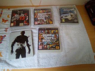 lot de 4 jeux PS3
