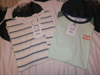 Camisetas de manga corta ZARA