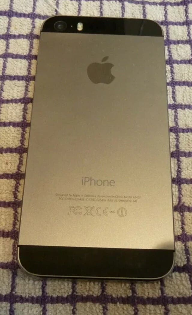 iPhone 5S 32 Gb libre gris espacial