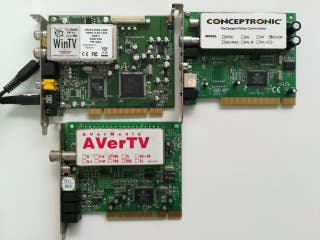 3 tarjetas tv de ordenador