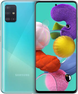 "Samsung Galaxy A51 - Dual SIM, Smartphone de 6.5"""