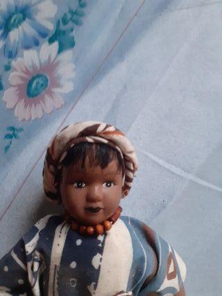 porcelana muñeca de COLECCIÓN VINTAGE de los 80