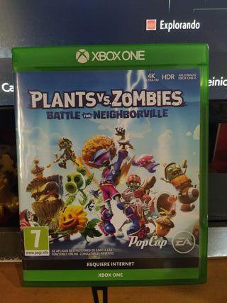 Plantas vs Zombies Xbox