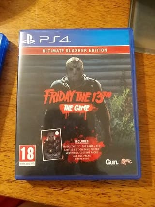 FRIDAY THE 13 TH . THE GAME PS4