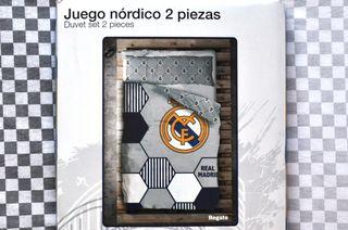 Funda nórdica 90 Real Madrid (NUEVA)