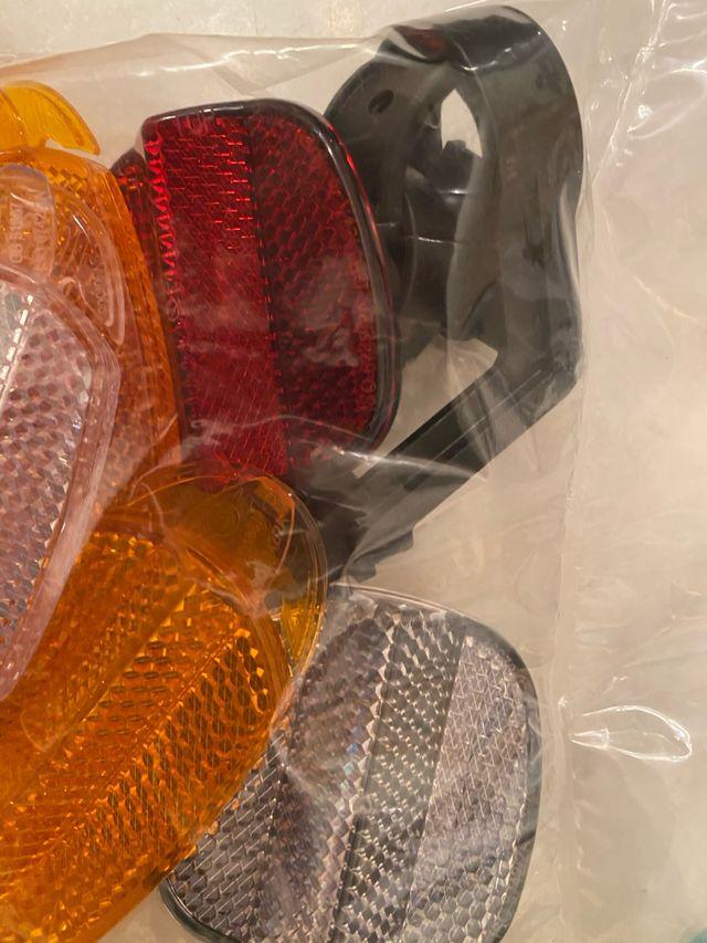 Reflectantes para bici catadriopticos NUEVOS