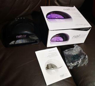 NailStar Lámpara LED y UV Profesional 12W
