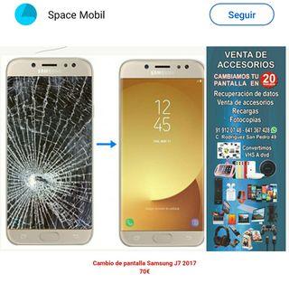 pantalla Samsung J7 2017