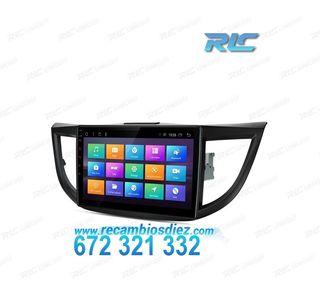 "RADIO GPS HONDA CRV ANDROID 7.1 LCD 10,1"" TÁCTIL"