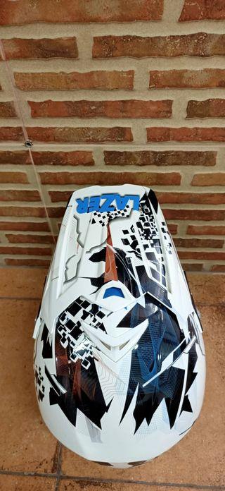 Casco motocross, enduro, bmx