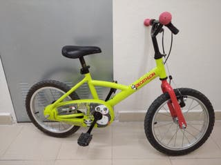 bici niño niña 16 pulgadas