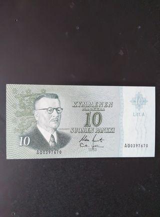 Finlandia 10 coronas. SC