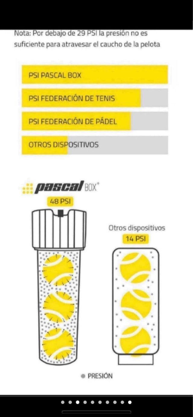 Bote presión Pascal Box Bullpadel 2020 A ESTRENAR