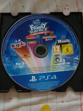 Family fun pack Hasbro Ps4