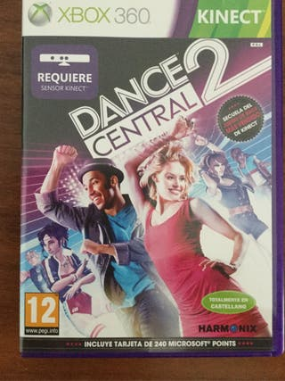 Juego Xbox 360 Dance Central II. Muy divertido.