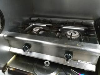 Cocina sobremesa 2 fuegos XINOX-FS-80