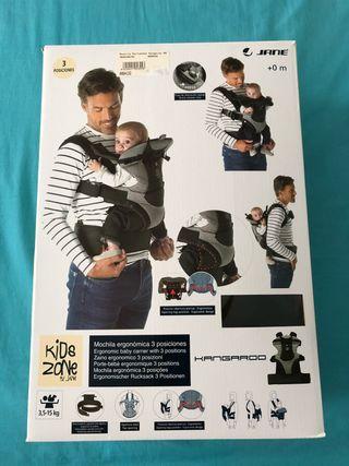 Mochila porta bebés Travel de Jane