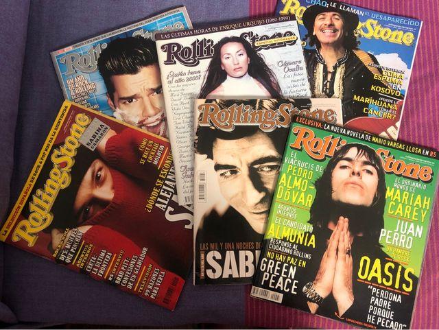 Lote revistas Rolling Stone