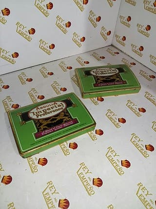 Cajas Vintage Abdulla/ unidad