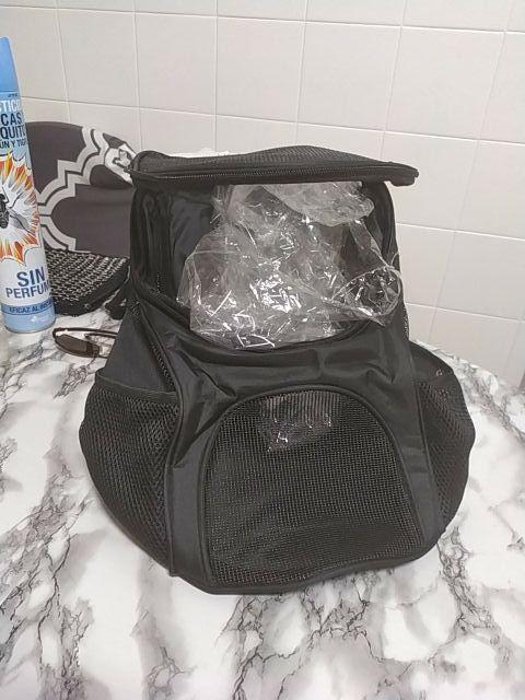 mochila transporte gato o perro