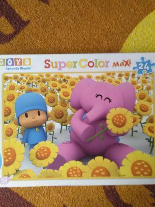 puzzle de Pocoyo