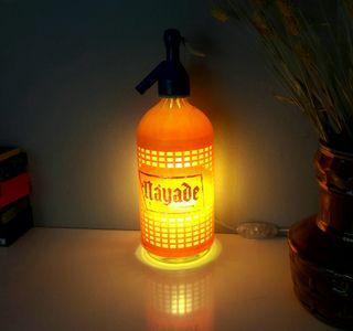 lampara sifon vintage luz ambiente calida