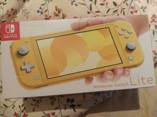 Nintendo switch lite precintada