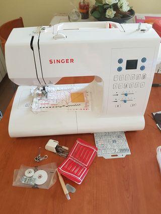 maquina coser portatil SINGER automatica
