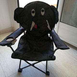 silla elefante plegable