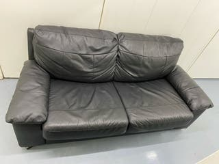 LUXURIOUS LEATHER SOFA BED