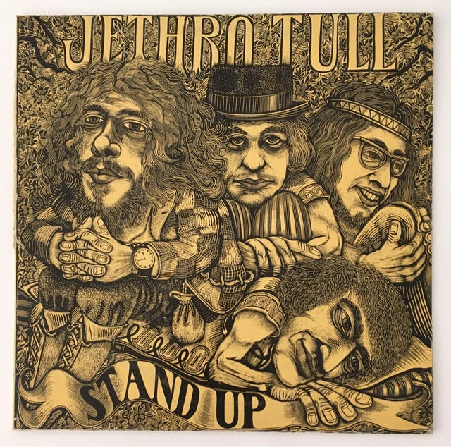 Jethro Tull Stand up (con pop-up) Disco Vinilo LP