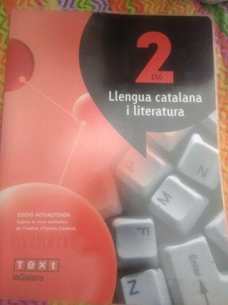 libro 2Eso Llengua Catalana i literatura