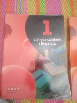 Libro 1ESO Llengua Catalana i Literatura