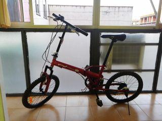 My folding bike