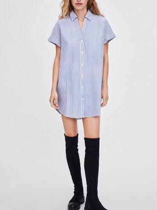 Camisa vestido Zara